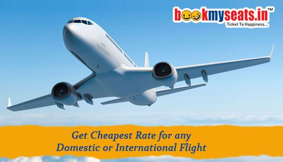 Plan Your Travel! Book cheap online flight tickets at Lowest airfares at Bookmyseats.in.We offer best #online flight ticket booking  on Domestic Flights. Get instant #air tickets booking online  with Bookmyseats.in and grab best travel deals for hotels, holidays, trains and air tickets online. On time and hassle free operation at the Low cost, #Discount Airline Tickets, Cheap flights to India & abroad.The best deals and #online flight tickets available for Asia and beyond only at…