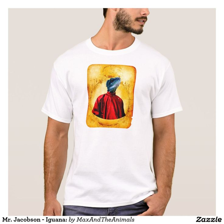 Mr. Jacobson - Iguana: T-Shirt