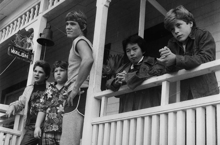 Ah, here the Goonies squad are in 1985. So full of youth and vigour. Such a motley crew of adventure-seekers. Such promise and hope. What could possibly go wrong, eh?