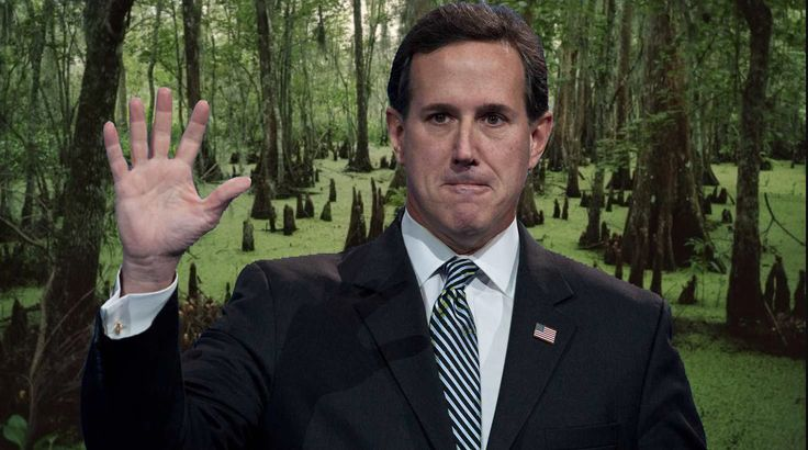EXPOSED: Swamp Creature Santorum Stands to Make MASSIVE PROFITS From Health Care Ring By Leading FAKE REPEAL