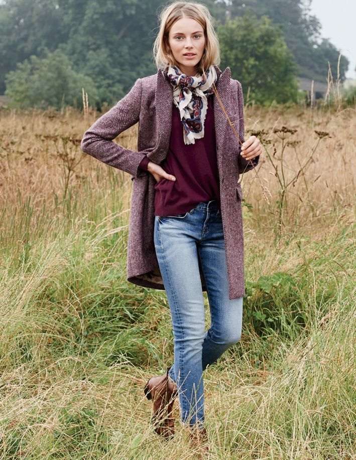 Mixing textures is a must for fall
