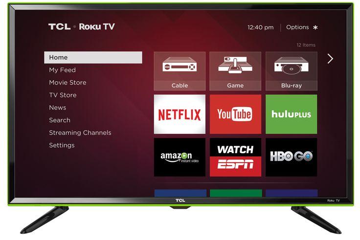Amazon.com: TCL 32S3850A 32-Inch 720p Roku Smart LED TV (Green) (2015 Model): Electronics