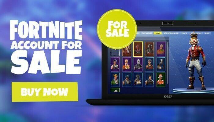 Fortnite Account For Sale (PC/Xbox) Fortnite Account $50 # ...