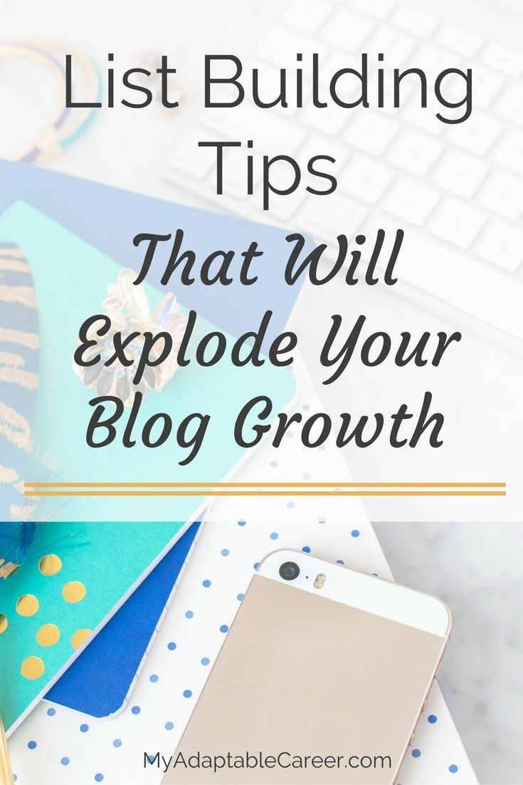 Struggling to grow your email list? Click through for tips that will help you build an engaged and profitable list!