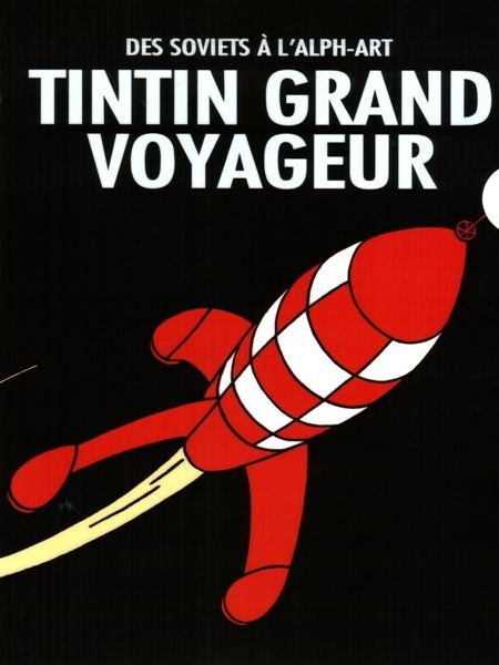 Tintin and Destination Moon moon rocket • Tintin, Herge j'aime