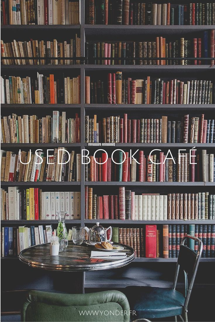 USED BOOK CAFÉ (3ème), un café, un livre et l'addition                                                                                                                                                                                 More