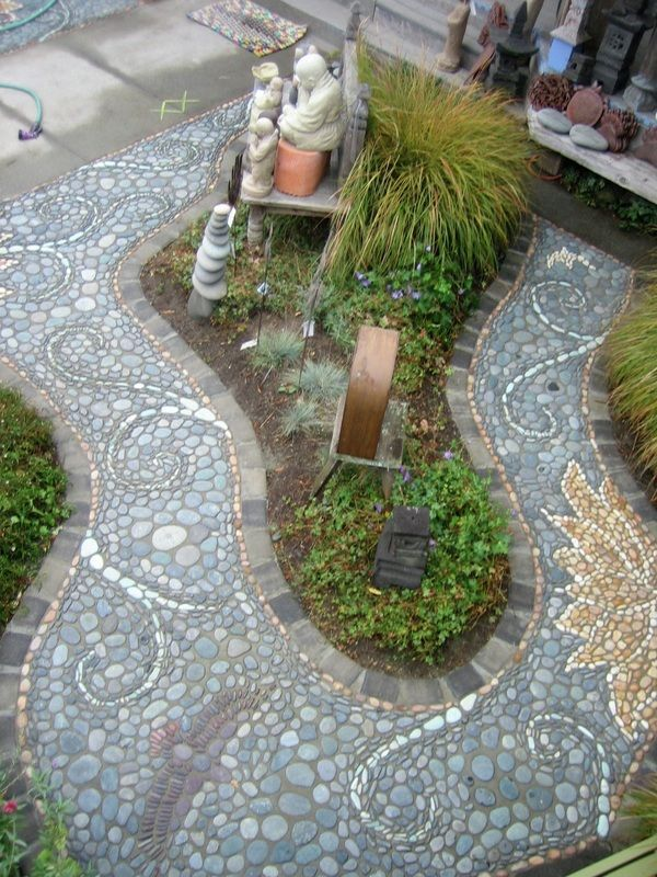 Landscape Glass Portland Oregon : Garden path ways stuff on gardens pathways and glass