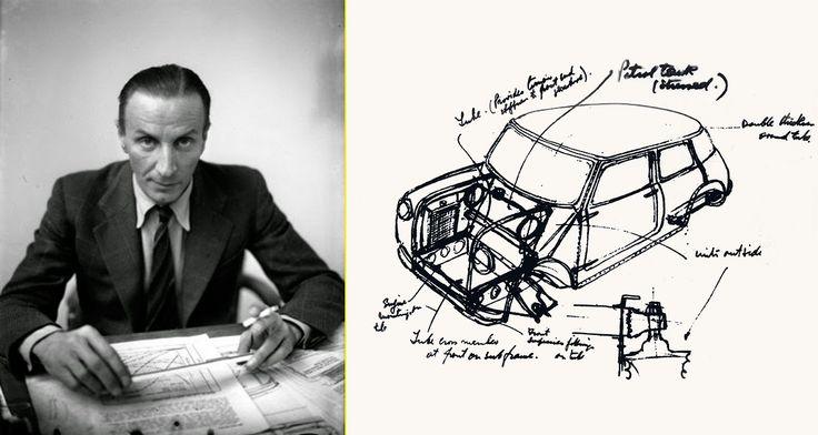 """""""Issigonis, padre del MINI, era de origen griego y tenía gran talento para la ingeniería y el diseño industrial"""""""