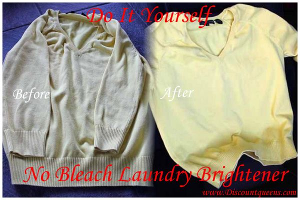 Do it Yourself No Bleach Laundry Brightener!!: Houses, Do It Yourself, Cleaning Laundry, Bleach Laundry, Discount Queen, Discountqueens Com, Photos 1 2, Laundry Brightening, Photos 10