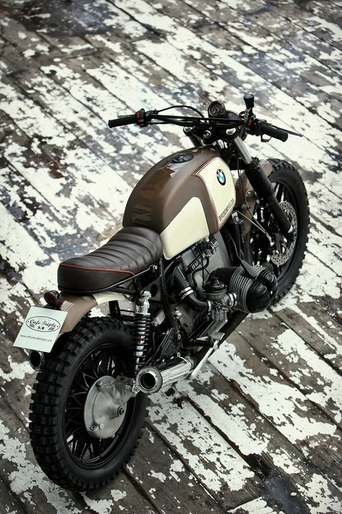 Bmw Street Tracker #motorcycles #motos #StreetTracker | caferacerpasion.com
