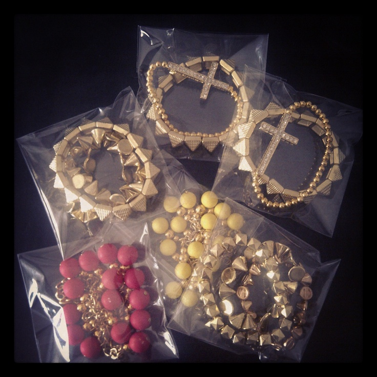 Handmade necklaces and bracelets