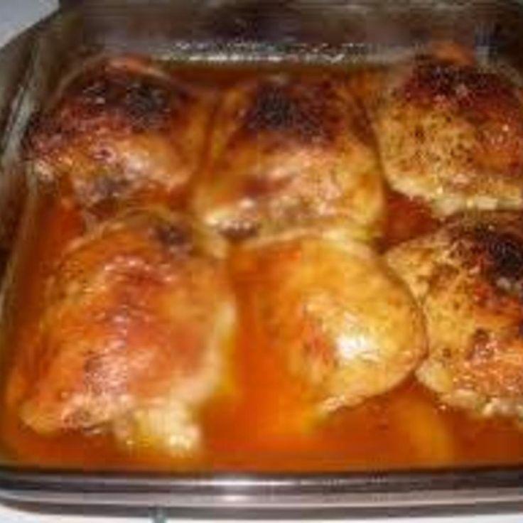 Oven Baked Orange Chicken