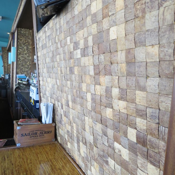 Product: Kirei Coco Tiles - Project name: Burger Craze in Deerfield Beach, FL