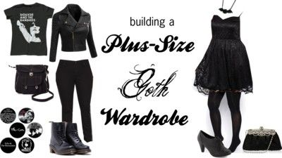 The Everyday Goth: Reader Question: Budget Plus-Sized Goth