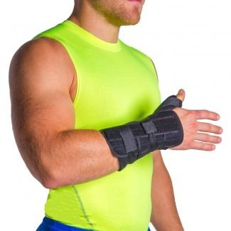 Lace-up Broken Thumb / Wrist Spica & Post-Surgery Immobilizer