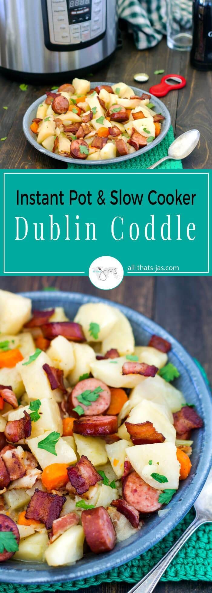 Dublin coddle | recipes | recipe | low ingredient | easy | the easiest | quick | simple | make ahead |  dinner ideas | party food | st patrick's day | st patricks | traditional | irish food