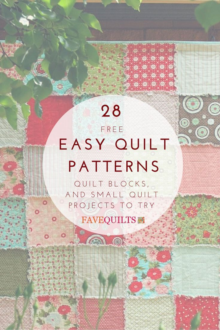 25+ best ideas about Small quilt projects on Pinterest Patchwork patterns, Quilting projects ...