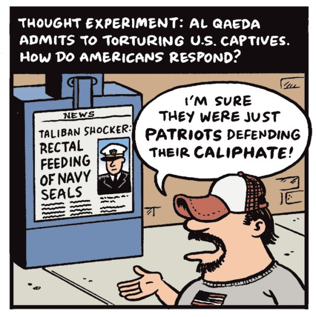When is torture torture? A thought experiment.