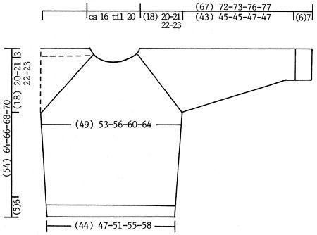 """Nils - DROPS Trui, sjaal en een DROPS gehaakte hoofdband met een DROPS klepje van """"Eskimo"""" - Free pattern by DROPS Design"""