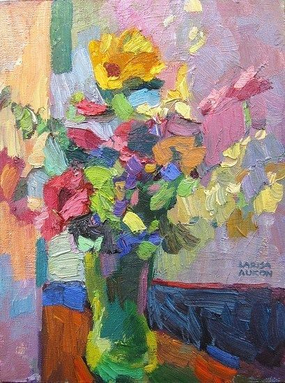 Charming by Larisa Aukon Oil ~ 12 x 9