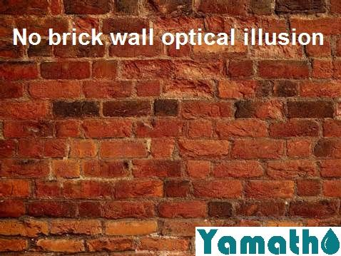 No Brick Wall Optical Illusion Only Solid Technology Put Together To Build Great Things Inspirational Textured Walls