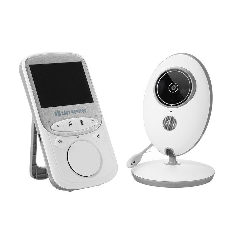 2.4G Digital inalámbrico visión nocturna LCD de audio de vídeo de seguridad Cámara bebé Monitor