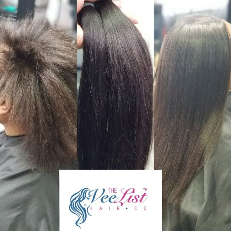 Keratin treatment and partial sew in