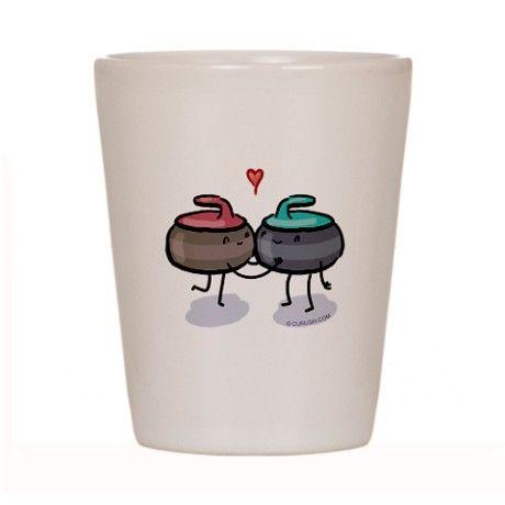 The Kiss Shot Glass on CafePress.com