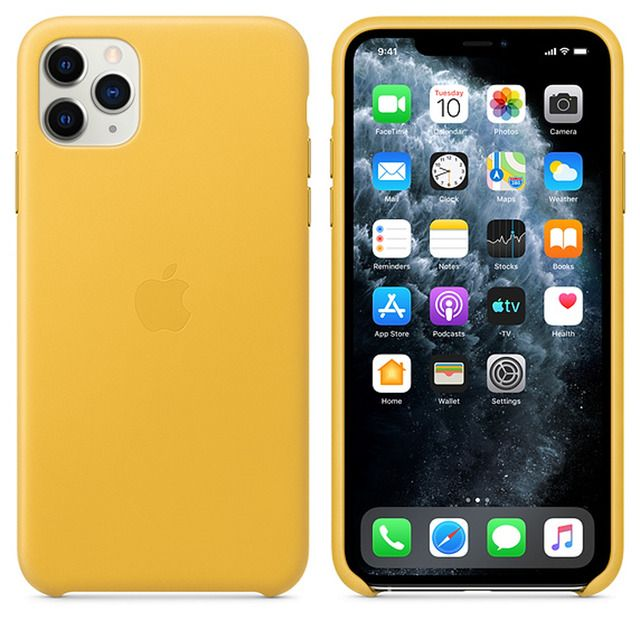 Funda - Apple Silicone Case Para el iPhone 11 Silicona Negro