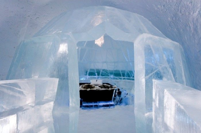 Top 30 World's Weirdest Hotels … Never Seen Before! ... Icehotel-7 └▶ └▶ http://www.pouted.com/?p=30907