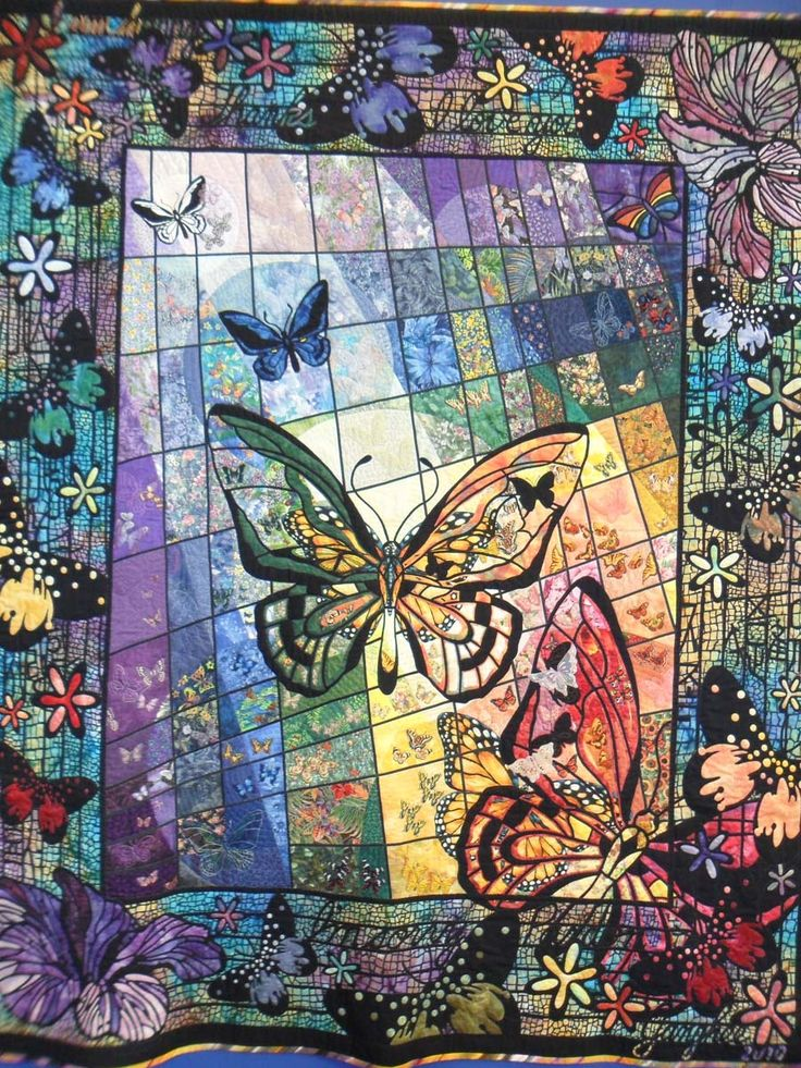 150 Best Butterfly Quilts Images On Pinterest Butterfly