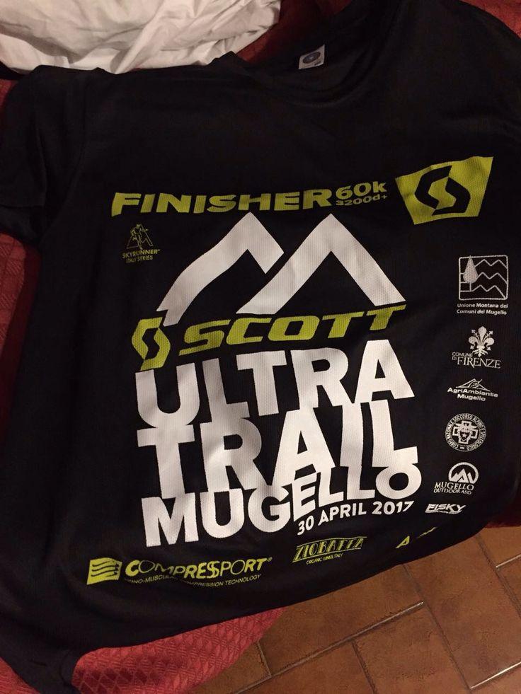 Team Marguareis all'Ultra Trail Mugello.