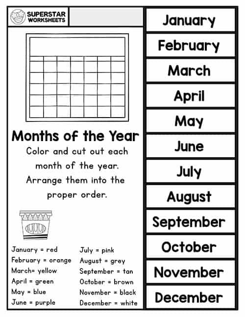 Free preschool assessment worksheets for year-end review