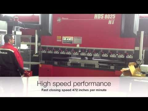 ▶ LS-Amada Guarding System for Amada HDS Press Brakes - YouTube