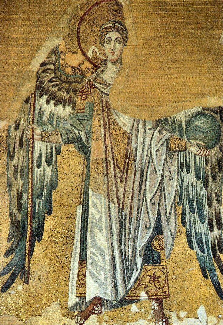 Archangel Gabriel mosaic, Chora church (Byzantine era), Istanbul