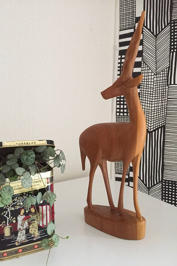 Anyelope/wooden/carving/mid-century/1970's