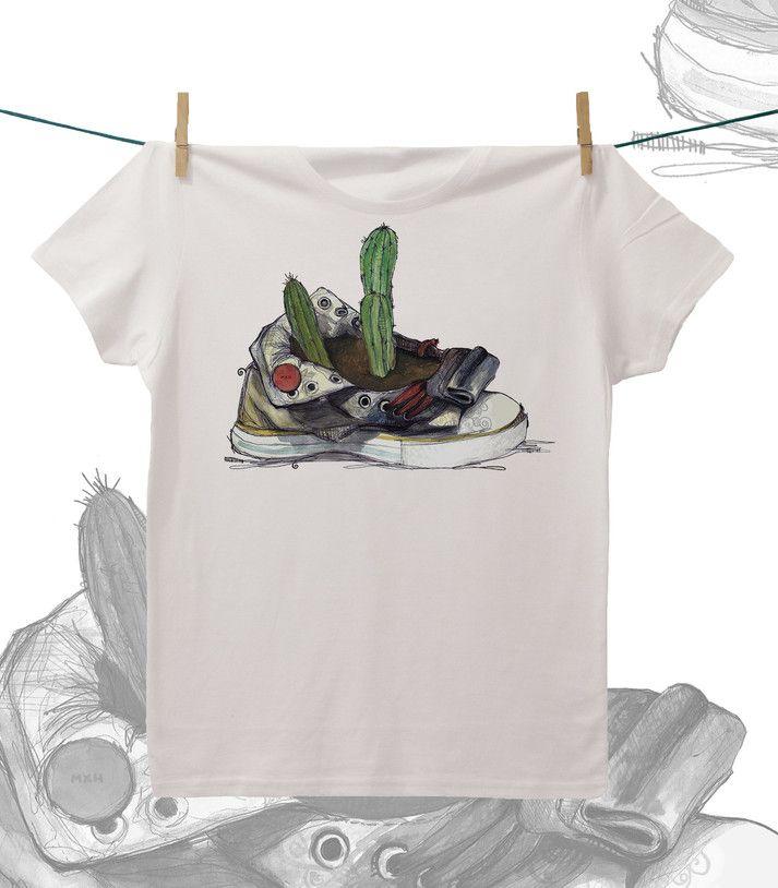 Camiseta ·MXH· Zapatilla reciclada