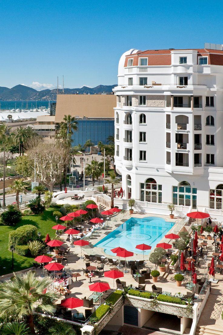 Hôtel Barrière Le Majestic - Cannes, France - This seven-story grande dame sits right on Cannes's famous seafront boulevard La Croisette.