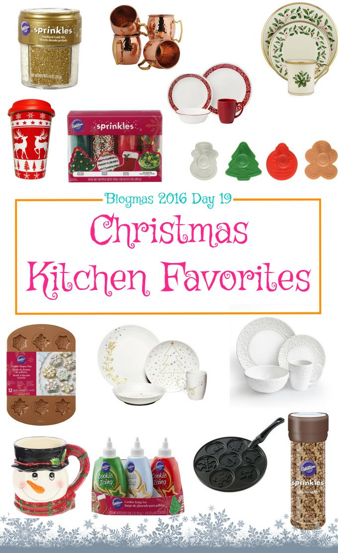 Blogmas 2016 Day 19 - Christmas Kitchen Favorites - Anna Can Do It!
