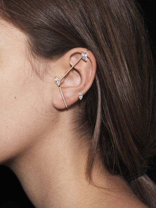boucles d'oreilles Suspension en diamants de Repossi