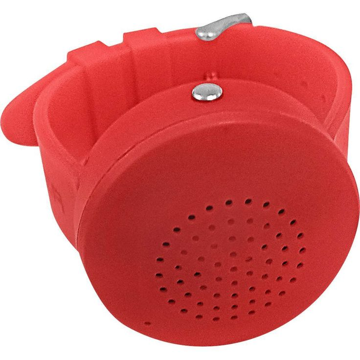 Bower - Boom Band Portable Bluetooth Watch Speaker - Red