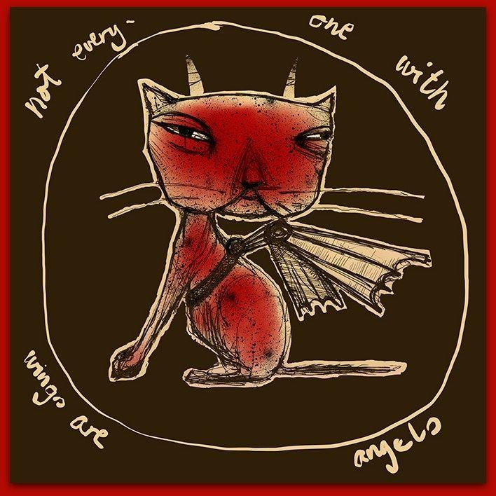 Devil in the sky - www.jannelykkewilhelmsen.com