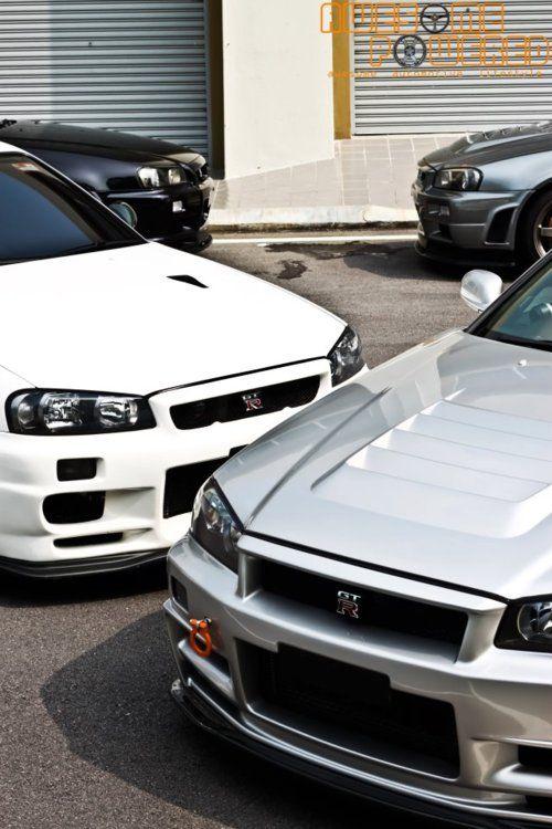 Nissan GTR's all over