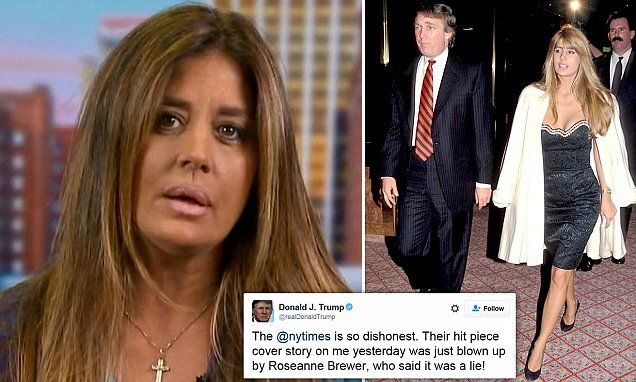 Former Trump girlfriend blasts NY Times for 'false' front-page story