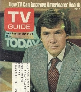 Vintage TV Guide 1977 Tom Brokaw