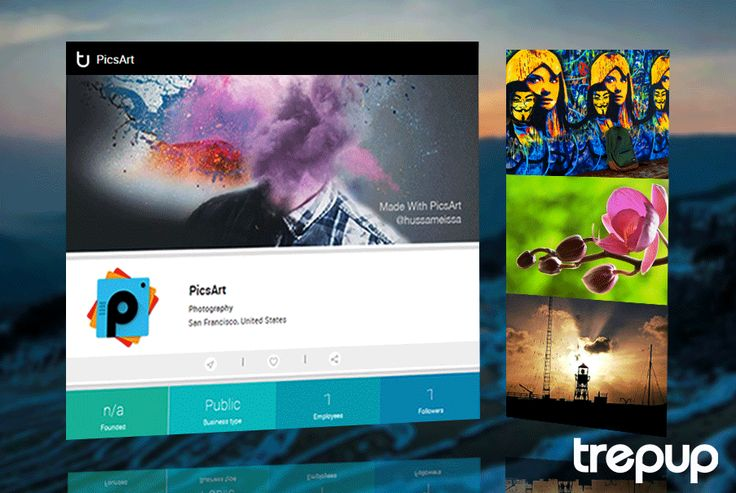 Once there was Picasso, now there is PicsArt. On Trepup! http://trepup.co/1SKEjfu