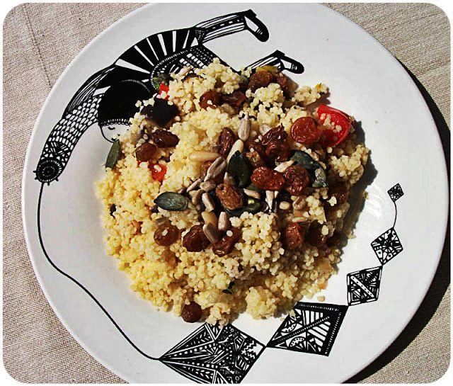 "Maison Courgette: Ensalada de Couscous a la Menta ""#ponunaensalada en tu verano"""