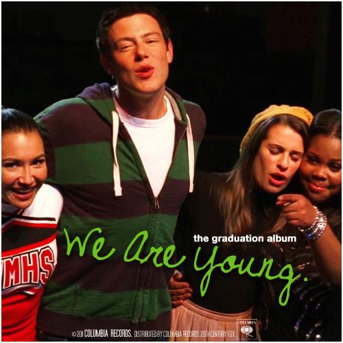 Glee: The Graduation Album | We Are Young Alternative Cover