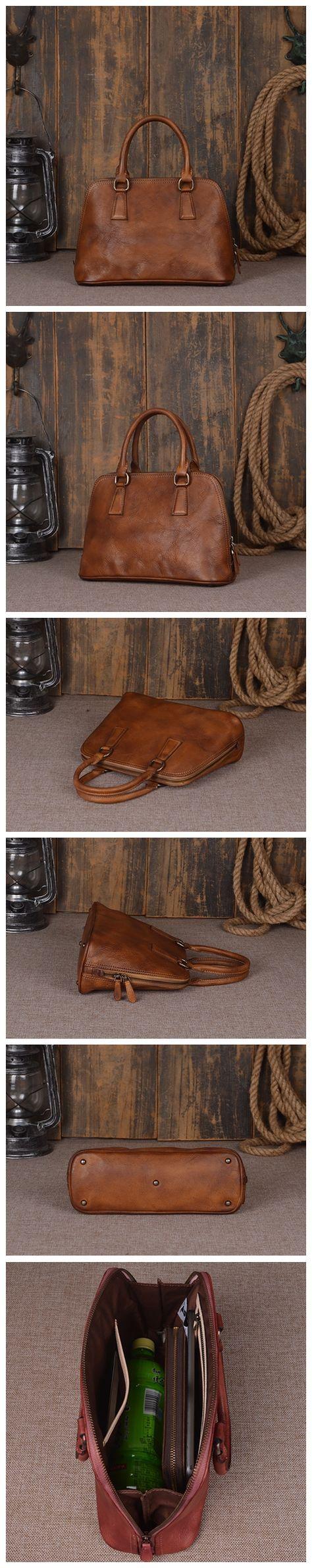 Fashion Genuine Leather Messenger Shoulder Bag Satchel Bags Leather Tote 9032