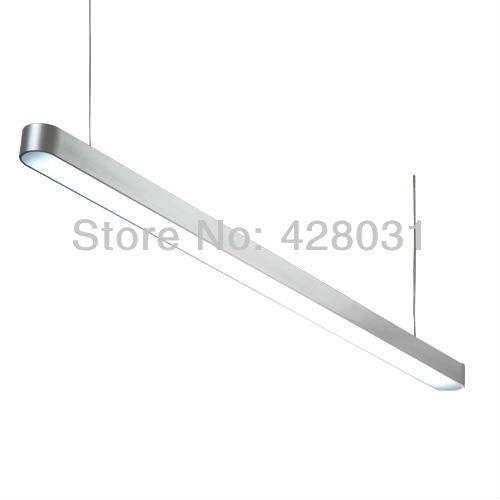 Aliexpress.com : Buy LED005A 1200mm 15w 1620LM modern pendant light fixtures with one led strip inside PMMA diffuser Alum housing from Reliable light sparkle suppliers on Amily home | Alibaba Group
